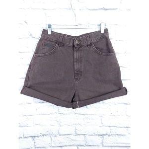Vintage Lee High Waist Mom Jean Shorts